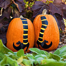 "Avoid the ""squishy pumpkin"" No carve pumpkin decorating ideas"