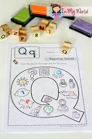 preschool letter q beginning sounds worksheets and preschool