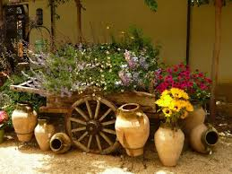 Wooden Wheelbarrow Planter by Wheelbarrow Planter Made Of Wood