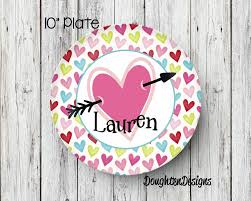 personalized melamine platter s plate personalized melamine plate s day