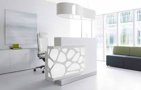 Medical Office Reception Desk White Ergonomic Chair Ideas With Modern Reception Desk Design For