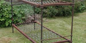 Iron Bunk Bed Cathouse Antique Iron Beds Vintage Bed