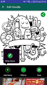 free doodle name doodle name maker android apps on play