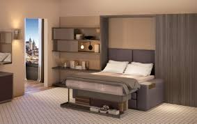 Hospitality Bedroom Furniture by Transformer Hotel Tiny Room Showcases Convertible Furniture