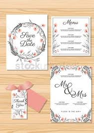 free menu card design stock vectors stockunlimited