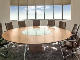 Circular Boardroom Table with Musa Capital Project In Sandhurst Gauteng South Africa