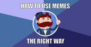 Memes Social Media - 4 things you should know before you start using memes on social media