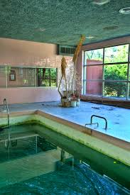 The Powder Room Birstall The Algae Filled Pool Of A Mid Century Modern Pocono Mountain Resort By Jonathan Haeber Jpg