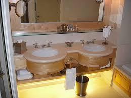 wonderful small modern bathroom decoration using 3 drum clear