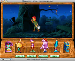 download peter pan story painting adventure abandonware