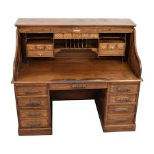 Roll Top Desks For Home Office by 41 Off Antique Oak Roll Top Desk Tables