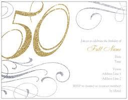 50th birthday invitations for women free invitations ideas