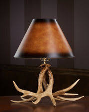 Antler Table Lamp Antler Lodge Table Lamps Ebay