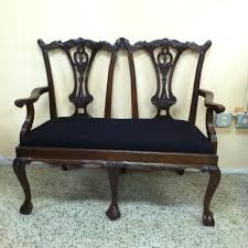 Vintage Settee Loveseat Best Antique Settee Bench Chair Seat In Spring Lake Nc For Sale In