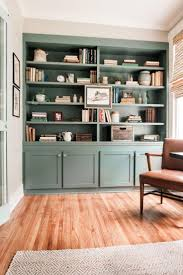 What Color Should I Paint My Kitchen Cabinets Best 20 Painted Built Ins Ideas On Pinterest Built In Shelves
