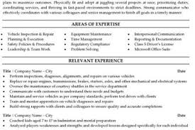 automotive technician resume exles homework help cotrugli business school automotive