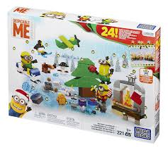 amazon mega bloks minions movie advent calendar toys u0026 games