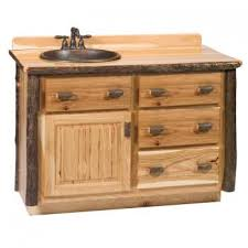 Barn Board Bathroom Vanity Hickory Log Barnwood Bathroom Vanities