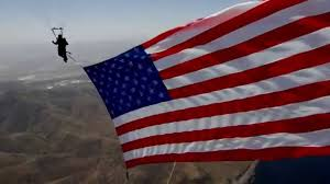 Display Of The American Flag Rules Skydiving Innovations Giant American Flag Youtube