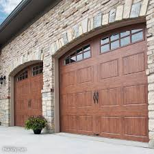 how to install a garage door family handyman