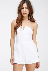 forever 21 white jumpsuit draped top textured jumpsuit navy playsuits jumpsuits ted