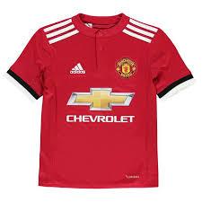 Manchester United Adidas Adidas Manchester United Home Shirt 2017 2018 Junior