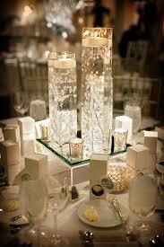 interesting winter wedding centerpiece ideas deer pearl flowers
