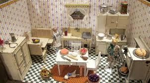 kitchen dollhouse furniture susan u0027s mini homes arcade toys for the dollhouse a 1920s kitchen