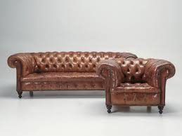 sofa in antique leather chesterfield sofa in original leather for sale