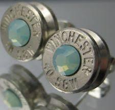 bullet stud earrings winchester earrings ebay