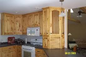 unfinished pine kitchen cabinets