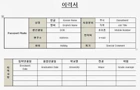 Sample Of Resume In Australia by How To Write A Korean Resume