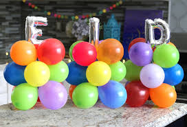 balloon columns how to make a festive diy balloon column for eid