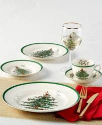 spode tree 12 pc dinnerware set service for 4