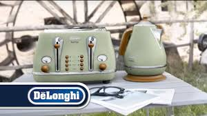 Next Kettle And Toaster De U0027longhi Vintage Icona Kettle And Toaster Breakfast Set Youtube
