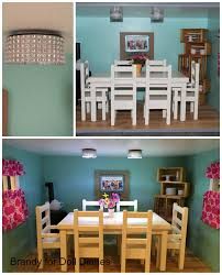 Dollhouse Dining Room Furniture by Dollhouse Dining Room Update Chandelier And Floor Extension