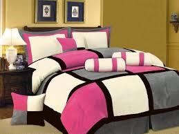 Queen Bedroom Comforter Sets Amusing Pink Queen Size Comforter Sets Lovely Home Interior Design