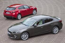 mazda saloon cars hatchback vs saloon changing lanes