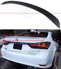 lexus gs350 for sale malaysia jdm f sport gsf style trunk spoiler wing for 2016 17 lexus gs350