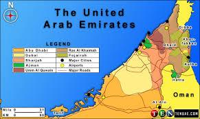 map of the uae more united arab emirates uae maps ten guide