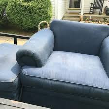 find more navy blue oversized chair and ottoman must go for