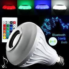 led light bluetooth speaker jeobest bluetooth led light blub 12w bluetooth speaker smart music