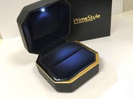 engagement ring boxes that light up 0 45ct round cut diamonds engagement ring in 14kt yellow gold i k