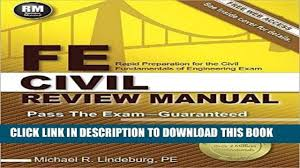 best seller fe civil review manual free read video dailymotion