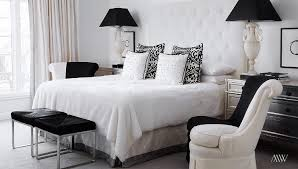 Accent Chairs For Bedroom Black And White Bedroom Designs Transitional Bedroom
