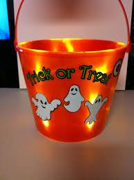 Lighted Halloween Buckets Lighted Halloween Bucket U2014 Make The Cut Forum