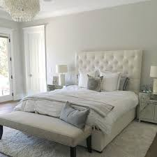 Steely Light Blue Bedroom Walls paint color is silver drop from behr beautiful light warm gray
