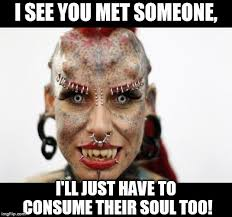 Demon Memes - overly attached demon meme generator imgflip