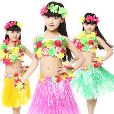 Hawaiian Halloween Costume Cheap Hawaiian Dance Costumes Kids Aliexpress
