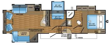 Fifth Wheel Floor Plans Bunkhouse Charleston Fifth Wheels